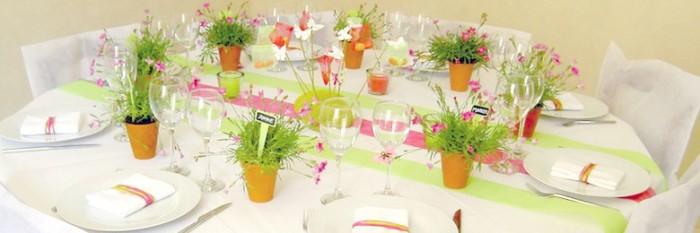 Comment d corer une table - Idee menu printemps ...